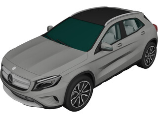 Mercedes-Benz GLA-Class GLA220 CDI 4Matic (2014) 3D Model