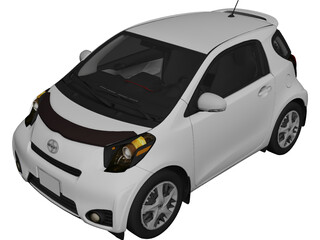 Scion iQ (2011) 3D Model