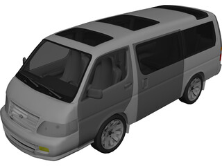 Toyota HiAce (2004) 3D Model