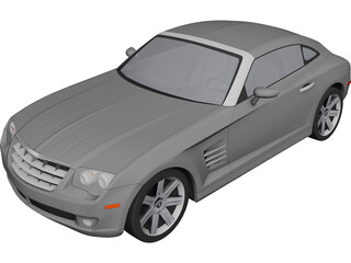 Chrysler Crossfire Coupe (2006) 3D Model