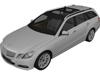 Mercedes-Benz E350 CDI Estate 3D Model