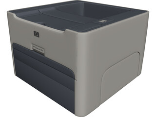 HP Laset Jet 1320 Printer 3D Model