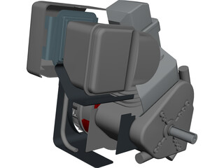 Briggs Baja Engine CAD 3D Model