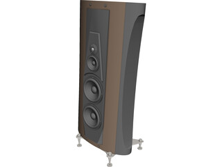 Speaker High End 3D Model