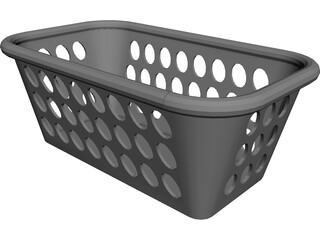 Platic Basket 3D Model