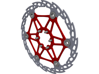 Hope Brake Disc CAD 3D Model