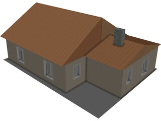 Little House 3D Model