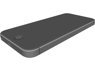 Apple iPhone 5 CAD 3D Model