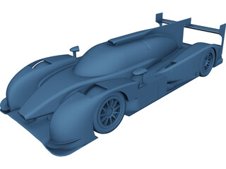 Perrinn LMP1 myP1 CAD 3D Model