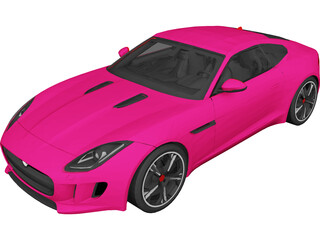 Jaguar F-Type R (2015) 3D Model