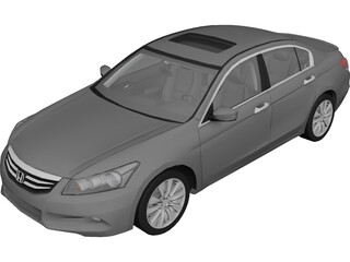 Honda Accord Sedan 3D Model