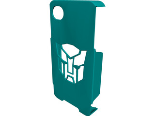 Transformers iPhone Case CAD 3D Model