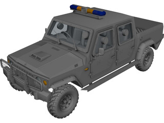 Jeep Agrale SUV 3D Model