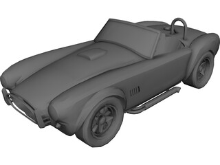 Shelby Cobra (1966) 3D Model 3D Preview