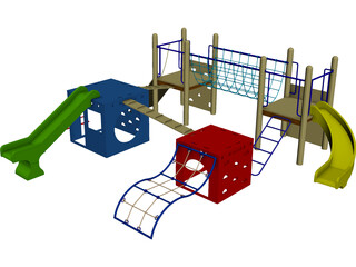 Playground 3D Model 3D Preview