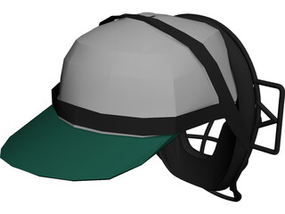 Baseball Catcher Mask 3D Model