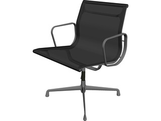 Eames Aluminum Group 3D Model