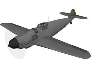 Messerschmitt BF-109G6 3D Model