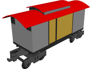 End Of The Line 3D Model