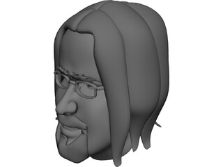 William Cartoon 3D Model