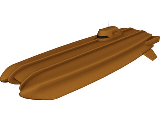 Future Submarine 3D Model