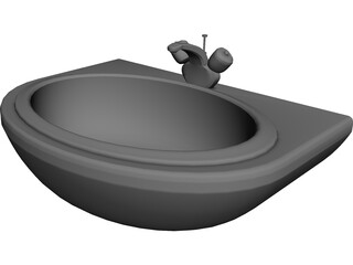 Sink Bathroom 3D Model