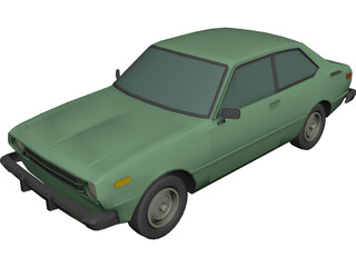 Toyota Corolla (1978) 3D Model
