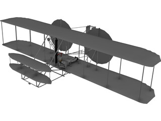 Wright Flyer [1903] 3D Model 3D Preview