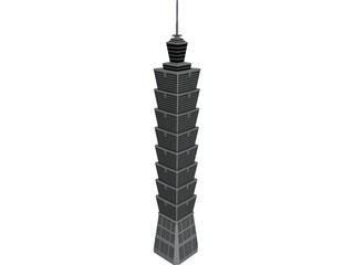 Tower Taipei 3D Model