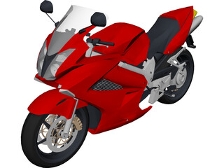 Honda Interceptor 3D Model