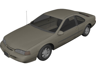 Ford Thunderbird (1996) 3D Model