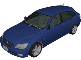 Lexus IS300 Sportcross [Toyota Altezza] 3D Model