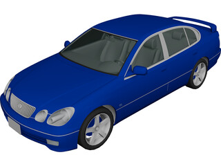 Toyota Aristo 3D Model