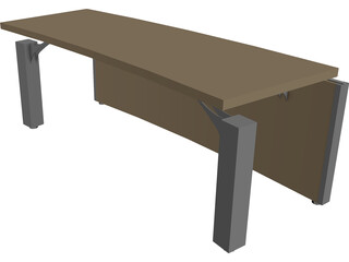Table Control Centre Multiuse 3D Model
