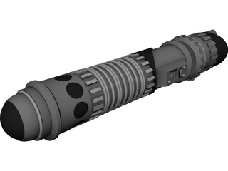 Light Saber 3D Model 3D Preview