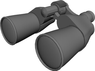Binoculars 3D Model 3D Preview