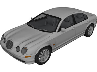 Jaguar S-Type (1998) 3D Model