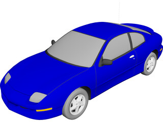 Pontiac Sunfire Coupe (1998) 3D Model