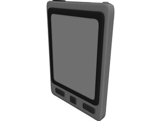 Personal Digital Assistant PDA 3D Model