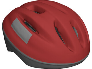 Helmet Bicycle 3D Model