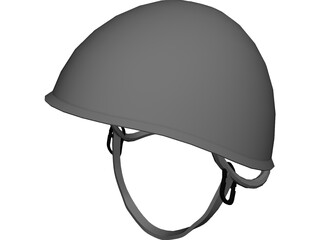 Russian Military Helmet 3D Model