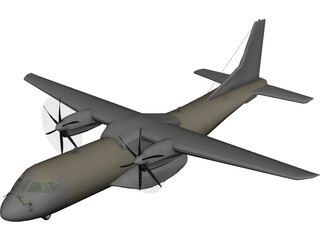 EADS CASA C-295 Persuader 3D Model 3D Preview