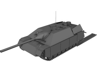 Jagdpanzer IV 3D Model 3D Preview