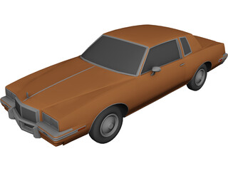 Pontiac Grand Prix (1985) 3D Model