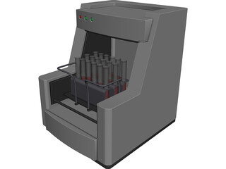 DNA Analyzer 3D Model