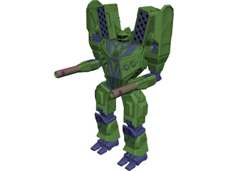 Mauler Battletech 3D Model