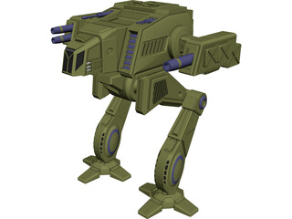 Shadowcat Battletech 3D Model