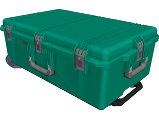 Pelican iM2950 Case CAD 3D Model