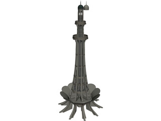 Minar-e-Pakistan 3D Model