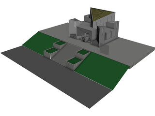 Supreme Court of Pakistan 3D Model